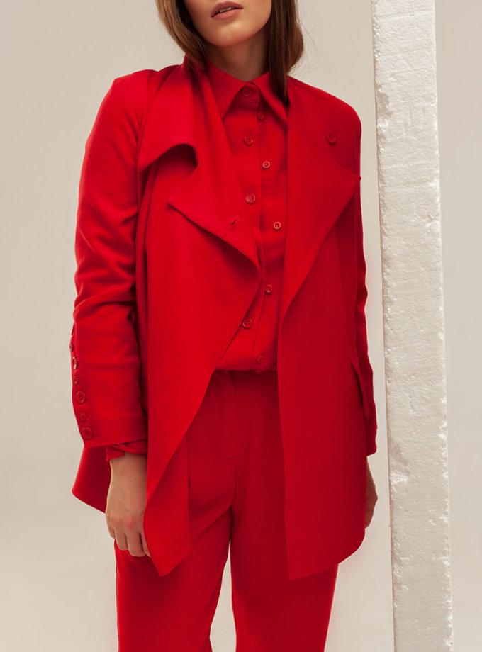 Жакет с асимметричным воротом XM_basic10, фото 1 - в интернет магазине KAPSULA