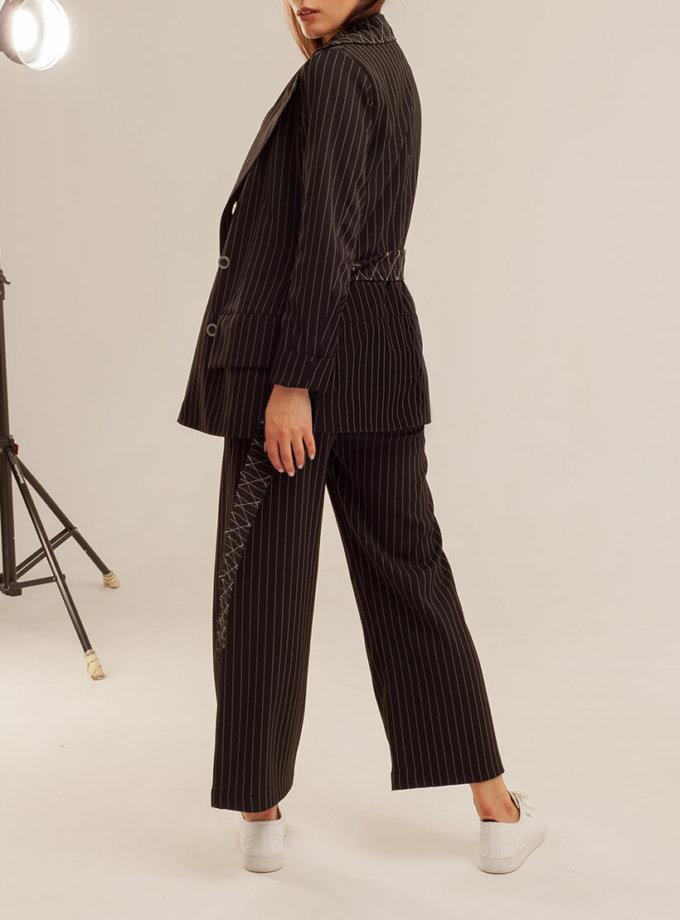 Укороченые брюки прямого кроя XM_basic16, фото 1 - в интернет магазине KAPSULA