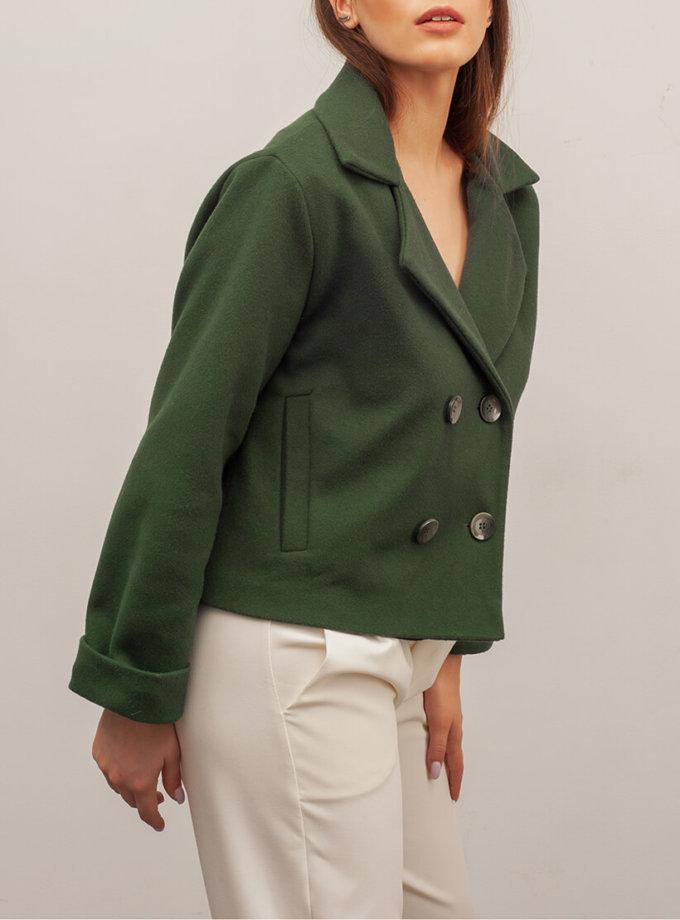 Укороченное пальто из шерсти XM_basic24, фото 1 - в интеренет магазине KAPSULA