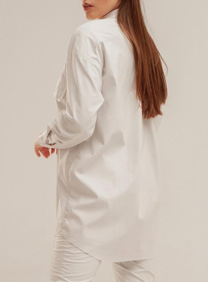 Рубашка из эко-кожи XM_basic3, фото 1 - в интеренет магазине KAPSULA