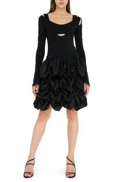 Платье с объемной юбкой YCHRV_111, фото 1 - в интеренет магазине KAPSULA