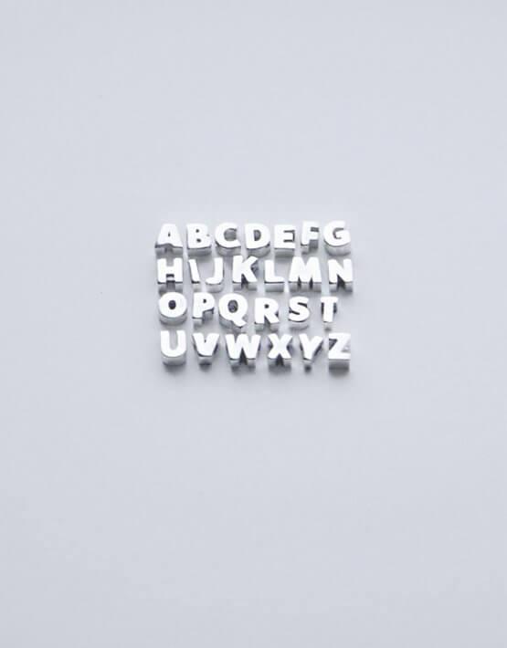 Серебряный браслет one letter YSB_Br-P-7015, фото 3 - в интеренет магазине KAPSULA