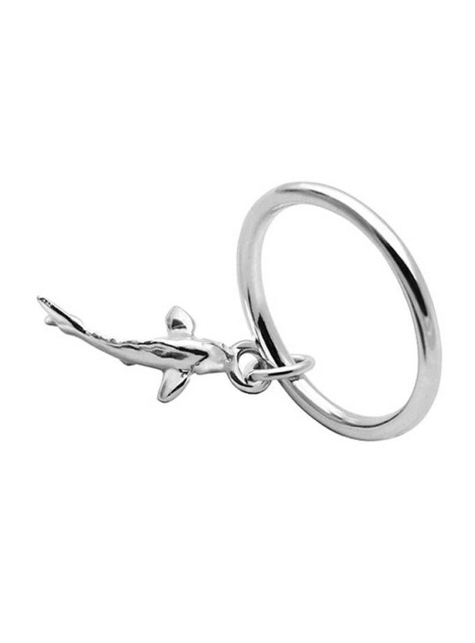 Серебряное кольцо с карпом YSB_K-790, фото 1 - в интеренет магазине KAPSULA