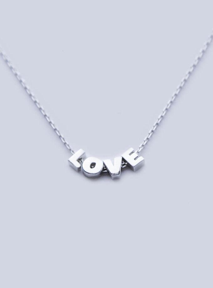 Ожерелье four letters из серебра YSB_Br-P-7015-4, фото 1 - в интеренет магазине KAPSULA