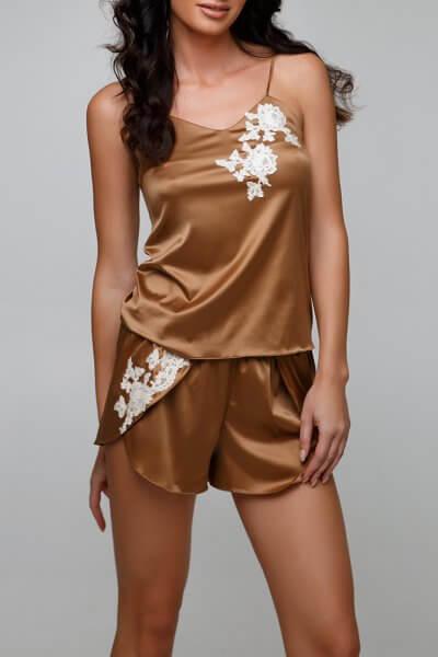 Пижамные шорты Laura DONT_14065, фото 1 - в интеренет магазине KAPSULA