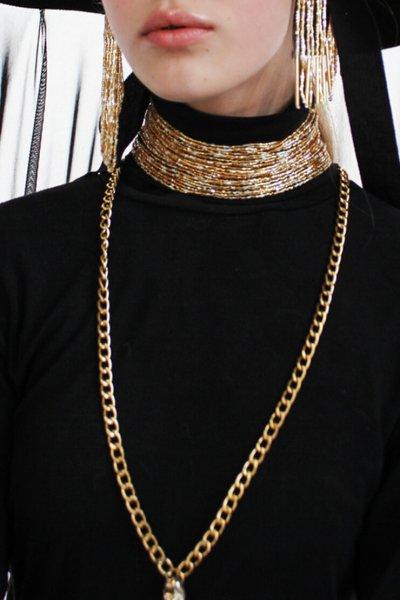 Колье из бисера GDV_Beads_necklace, фото 1 - в интеренет магазине KAPSULA