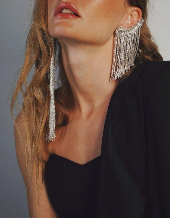 Кафф с кристалами Swarovski GDV_Cascade_cuff, фото 3 - в интеренет магазине KAPSULA