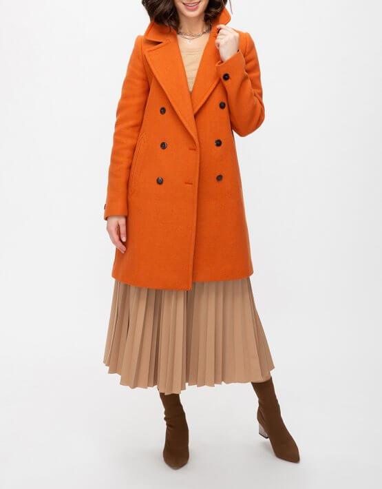 Двубортное пальто из шерсти TRC_MU63ATTDCH5401, фото 6 - в интеренет магазине KAPSULA