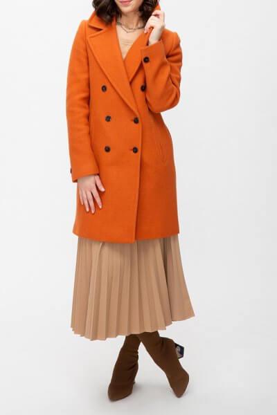 Двубортное пальто из шерсти TRC_MU63ATTDCH5401, фото 5 - в интеренет магазине KAPSULA