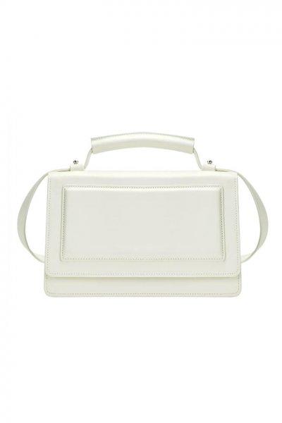 Кожаная сумка BONY KLNA_Bony_white, фото 1 - в интеренет магазине KAPSULA