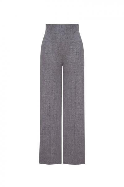 Широкие брюки из шерсти LKC_BRZ1804, фото 1 - в интеренет магазине KAPSULA