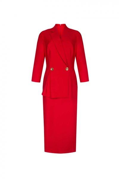 Платье из шерсти LKC_SUO1905, фото 1 - в интеренет магазине KAPSULA