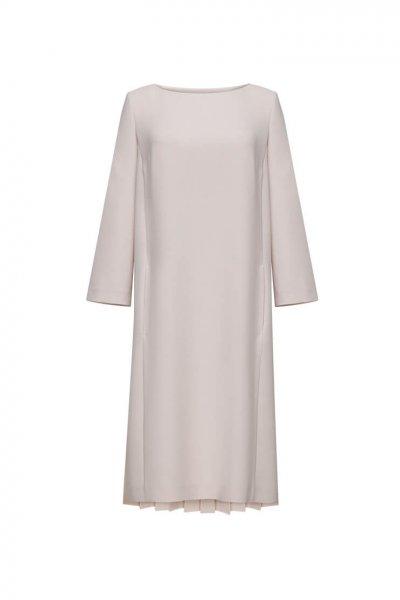 Платье со спиной-плиссе LKC_SUV1903, фото 1 - в интеренет магазине KAPSULA