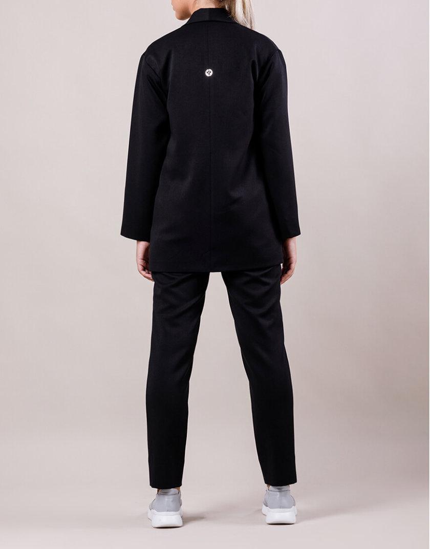 Брючный костюм с поясом MMT_015-047-black, фото 1 - в интернет магазине KAPSULA