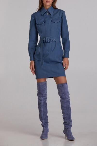 Платье мини из шерсти SAYYA_FW921, фото 5 - в интеренет магазине KAPSULA