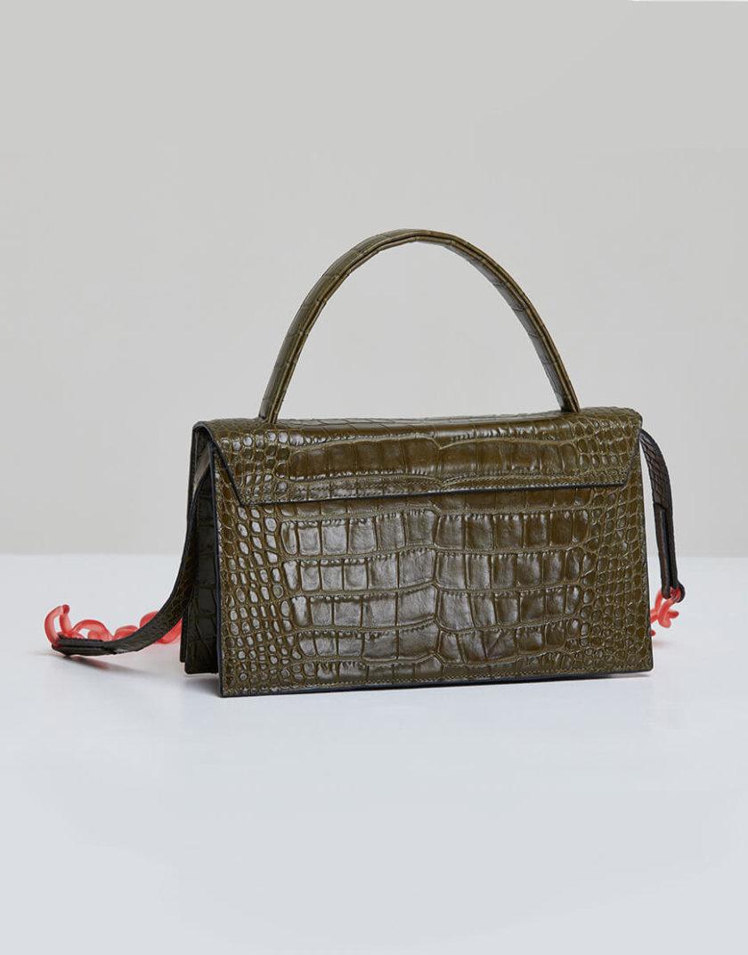Кожаная сумка MOLLY с картхолдером SAYYA_FW984-2, фото 1 - в интеренет магазине KAPSULA