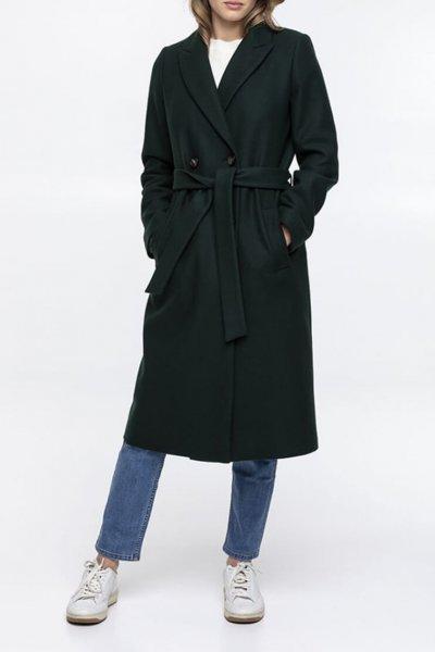 Пальто из шерсти с поясом TRC_MZ39ATTRLF34, фото 1 - в интеренет магазине KAPSULA