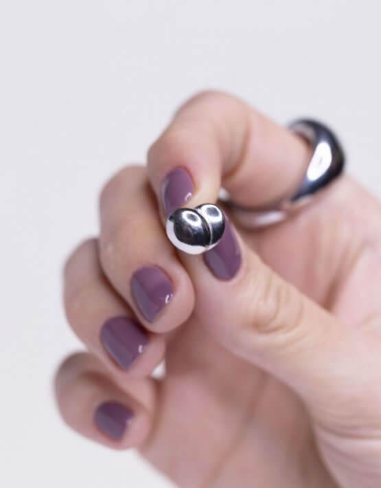 Серебряные серьги VANITY YSB_C-798, фото 4 - в интеренет магазине KAPSULA