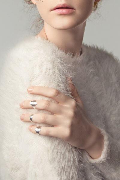 Серебряное кольцо на фалангу YSB_KL-7006c, фото 1 - в интеренет магазине KAPSULA