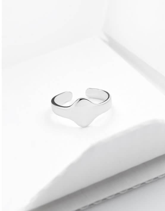 Серебряное кольцо на фалангу YSB_KL-7006c, фото 5 - в интеренет магазине KAPSULA