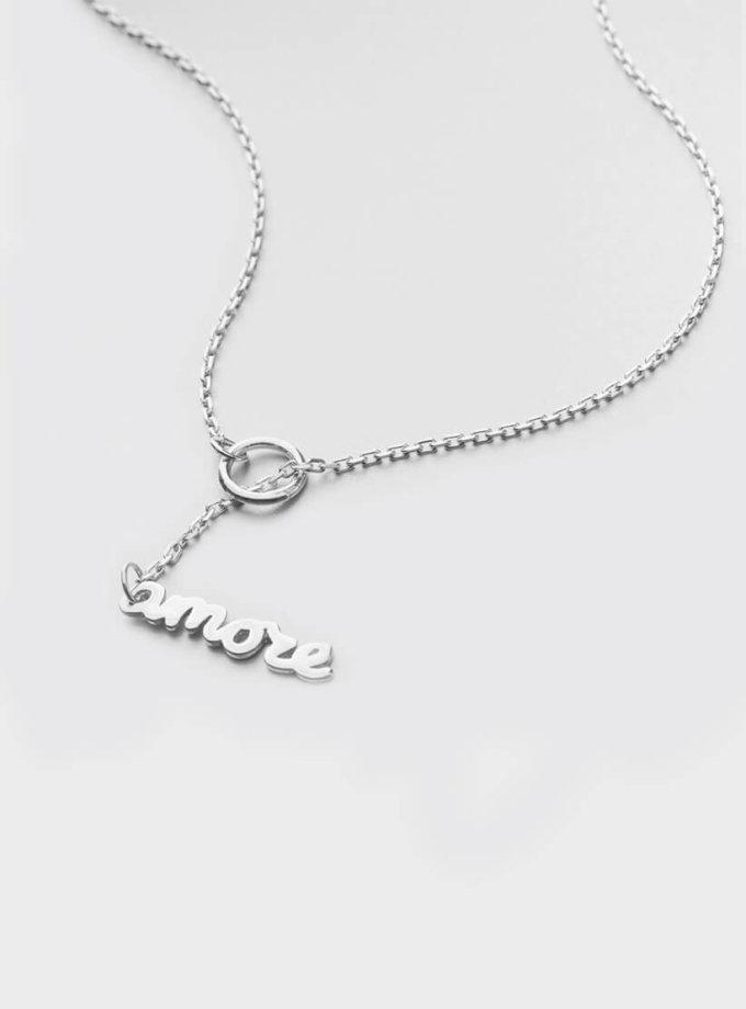 Серебряное ожерелье Amore YSB_OZ-769, фото 1 - в интеренет магазине KAPSULA