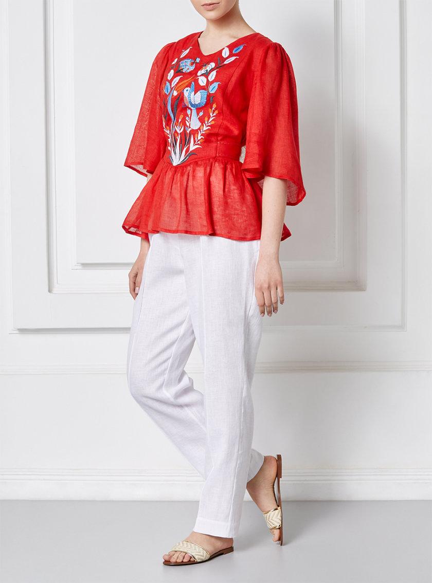 Блуза КВЕЗАЛЬ FOBERI_SS20015, фото 1 - в интернет магазине KAPSULA