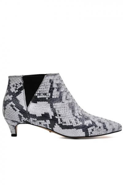 Кожаные ботинки на kitten hill MDVV_307362, фото 1 - в интеренет магазине KAPSULA