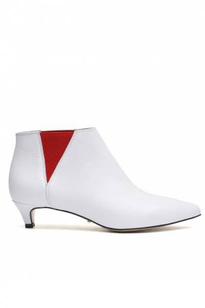 Кожаные ботинки на kitten hill MDVV_307342, фото 1 - в интеренет магазине KAPSULA