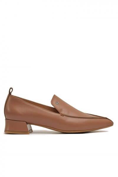 Кожаные туфли с острым носком MDVV__393022, фото 1 - в интеренет магазине KAPSULA