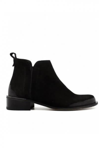 Замшевые ботинки с потерным носком MDVV_531244, фото 1 - в интеренет магазине KAPSULA