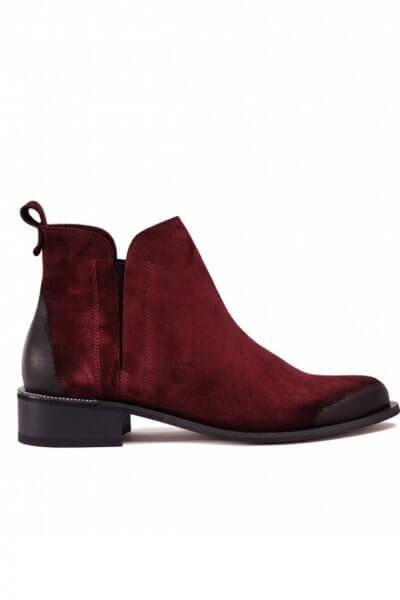 Замшевые ботинки с потерным носком MDVV_531274, фото 1 - в интеренет магазине KAPSULA