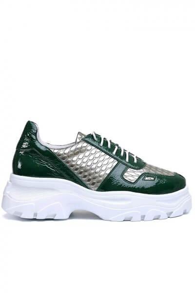 Легкие кроссовки из кожи с тиснением MDVV_568614, фото 1 - в интеренет магазине KAPSULA