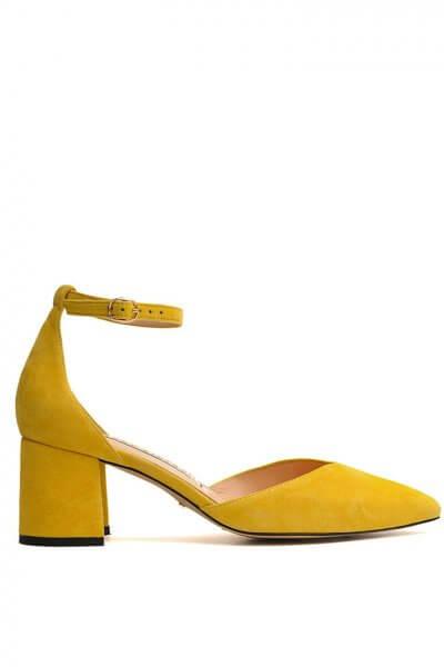 Замшевые туфли на удобном каблуке MDVV_718701, фото 1 - в интеренет магазине KAPSULA
