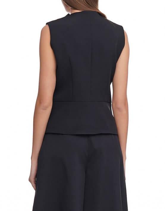 Блуза с воротником плиссе AY_2923, фото 5 - в интеренет магазине KAPSULA
