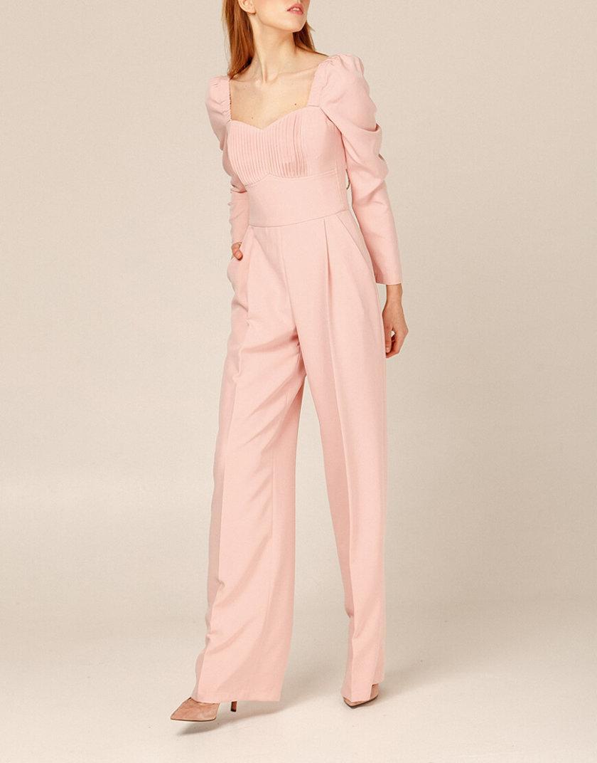 Комбинезон с широкими брюками AY_2931, фото 1 - в интернет магазине KAPSULA
