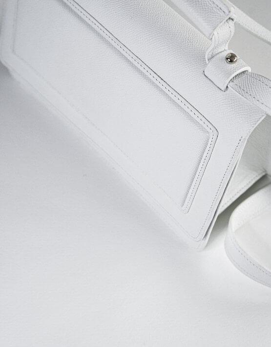 Сумка BONY из зернистой кожи KLNA_Bony_white-zebra, фото 6 - в интеренет магазине KAPSULA