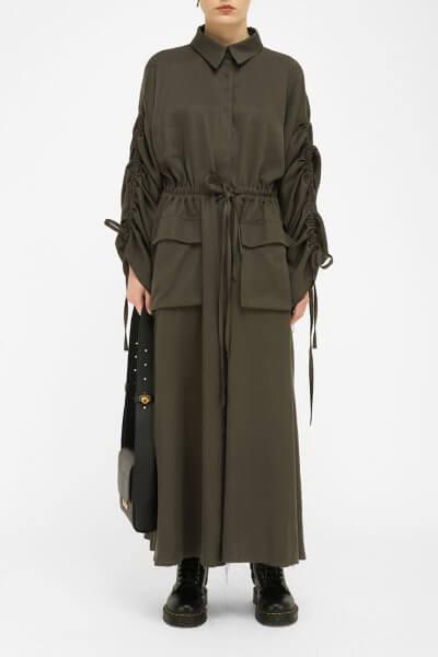 Плащ-платье на завязках FKL_DSS2004, фото 1 - в интеренет магазине KAPSULA