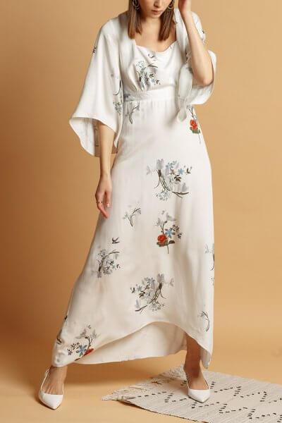 Платье макси из хлопка INS_SS20_12, фото 1 - в интеренет магазине KAPSULA