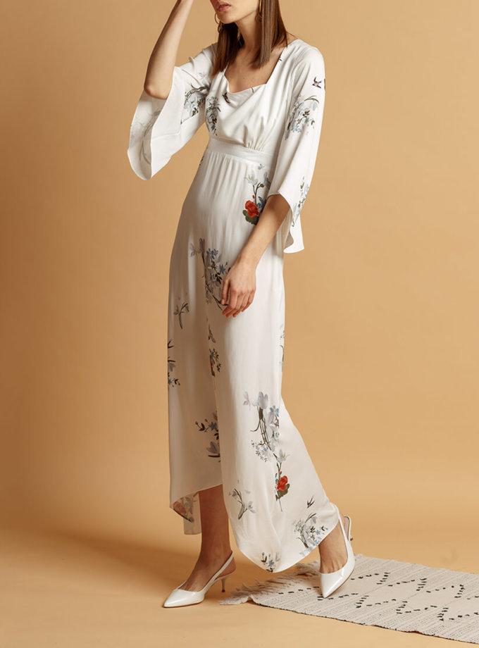 Платье макси из хлопка INS_SS20_12, фото 1 - в интернет магазине KAPSULA