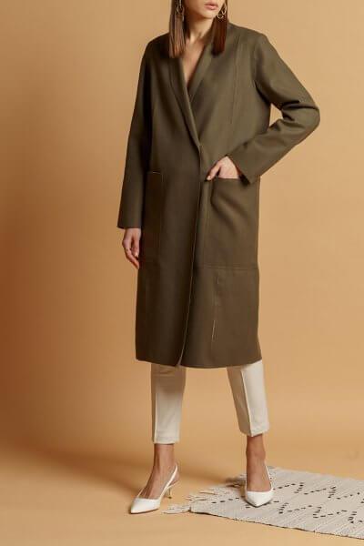 Пальто из тонкой шерсти INS_SS20_1_01, фото 1 - в интеренет магазине KAPSULA