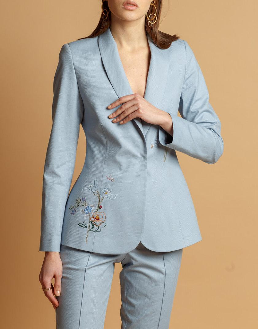 Жакет из хлопка с вышивкой INS_SS20_2_02, фото 1 - в интернет магазине KAPSULA