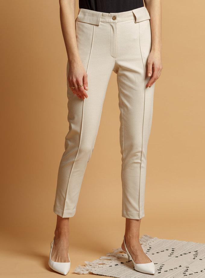 Хлопковые брюки со стрелками INS_SS20_4, фото 1 - в интернет магазине KAPSULA