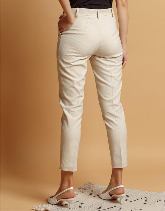 Хлопковые брюки со стрелками INS_SS20_4, фото 4 - в интеренет магазине KAPSULA