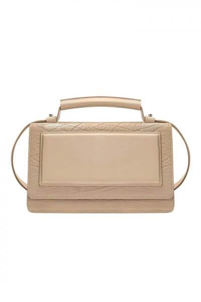 Кожаная сумка BONY KLNA_Bony_beige, фото 1 - в интеренет магазине KAPSULA