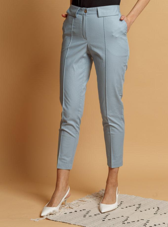 Хлопковые брюки со стрелками INS_SS20_4-02, фото 1 - в интернет магазине KAPSULA