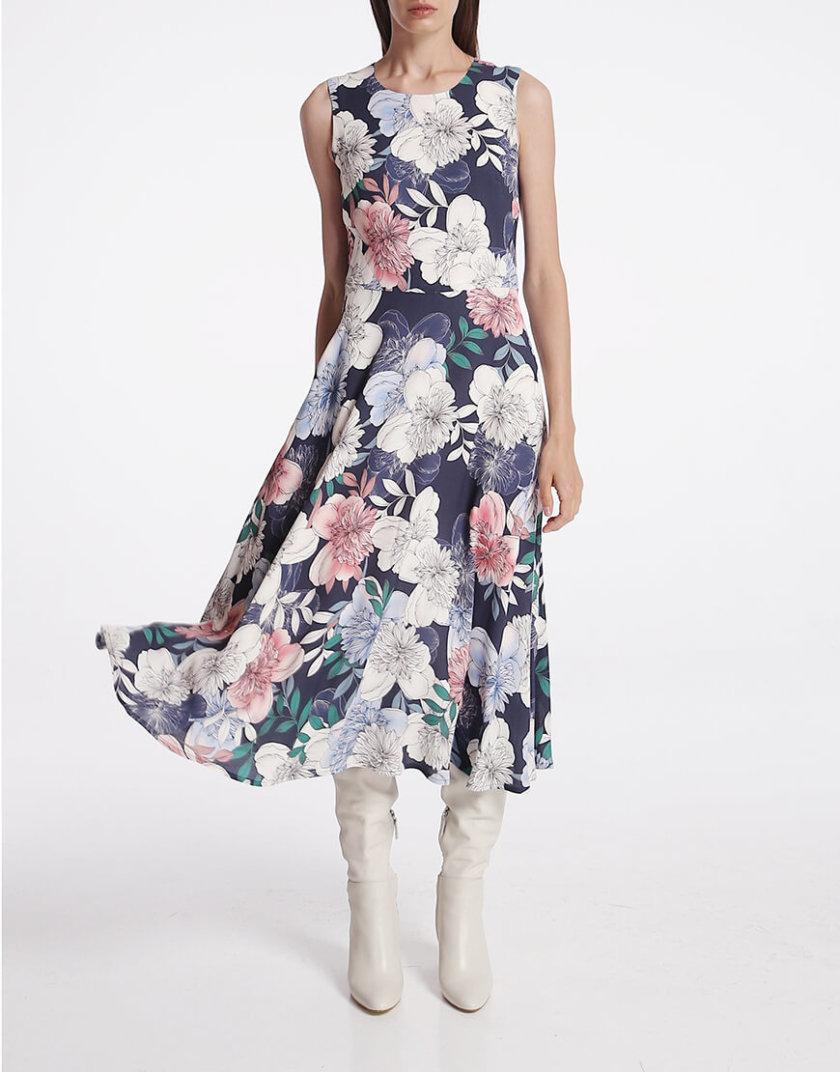 Платье с карманами на подкладе SHKO_15014017, фото 1 - в интернет магазине KAPSULA