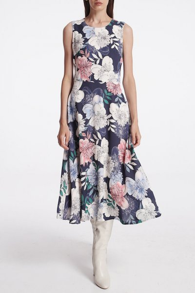 Платье с карманами на подкладе SHKO_15014017, фото 1 - в интеренет магазине KAPSULA