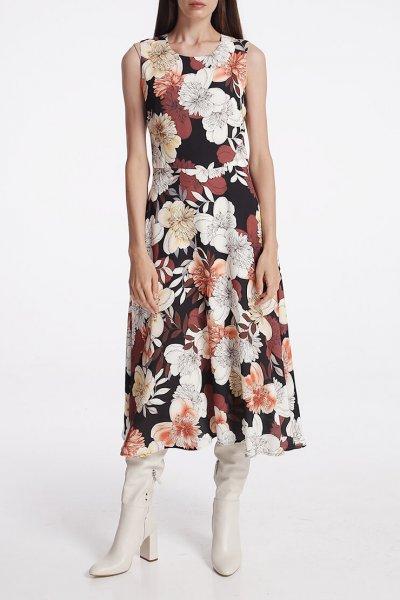 Платье с карманами на подкладе SHKO_15014018, фото 1 - в интеренет магазине KAPSULA