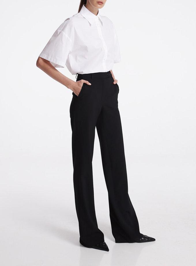 Прямые брюки из шерсти SHKO_16021019, фото 1 - в интеренет магазине KAPSULA