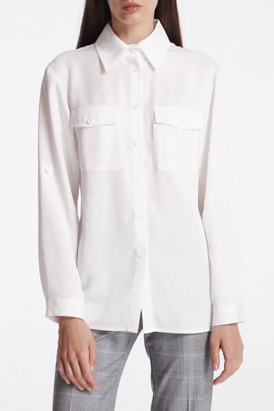 Рубашка с накладными карманами SHKO_18032003, фото 1 - в интеренет магазине KAPSULA